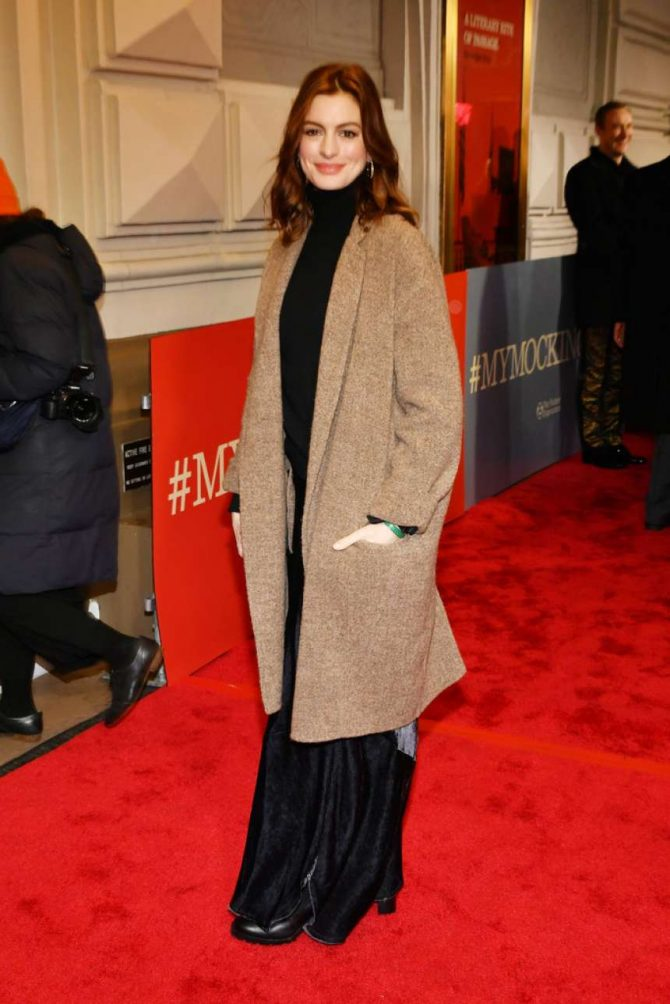 Anne Hathaway – 'To Kill A Mockingbird' Opening Night in NYC