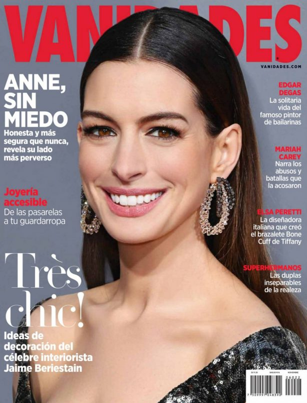 Anne Hathaway - Vanidades Magazine Mexico - November 2020