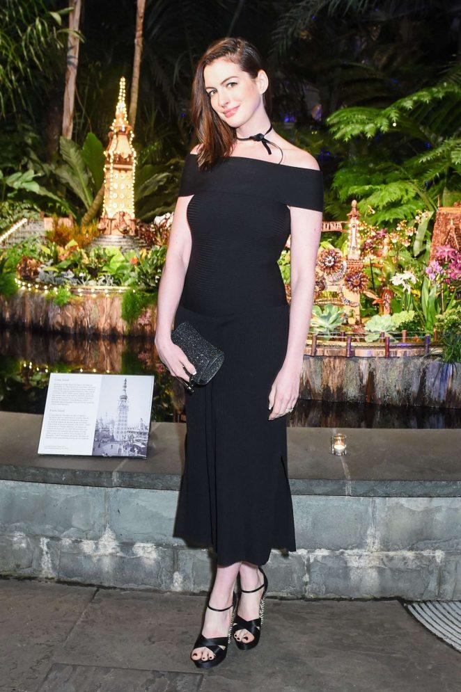 Anne Hathaway - Winter Wonderland Ball 2016 in New York