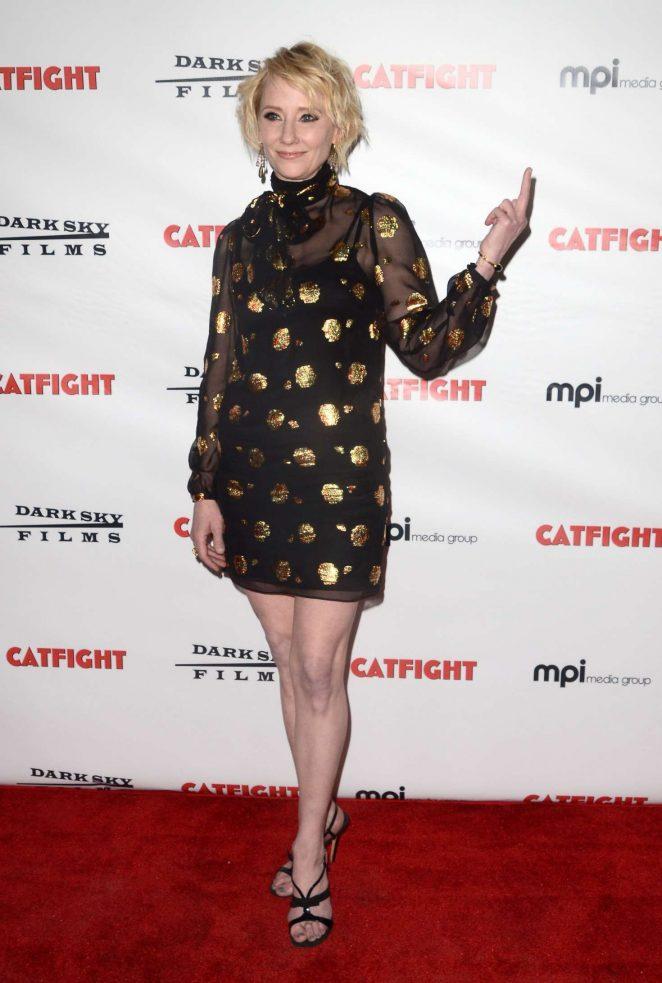 Anne Heche: Catfight LA Premiere -10