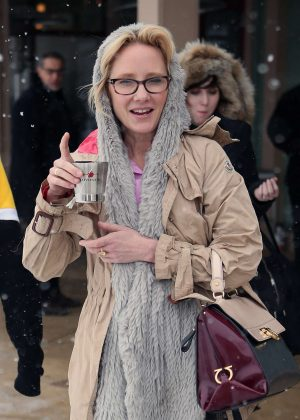 Anne Heche out at 2017 Sundance Film Festival in Utah