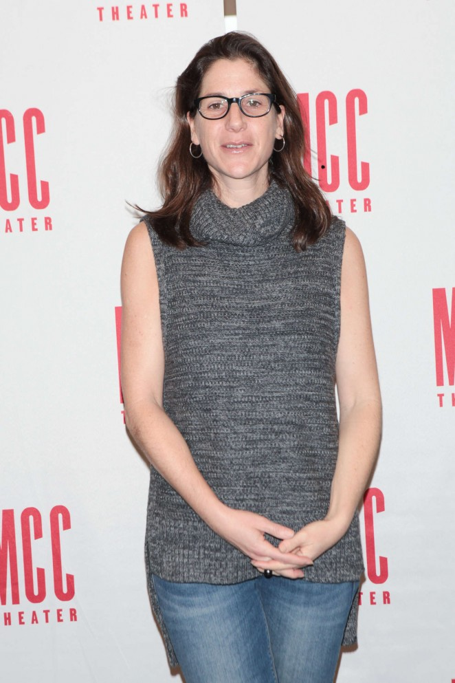 Anne Kauffman - 'SMOKEFALL' Meet The Press Event in New York