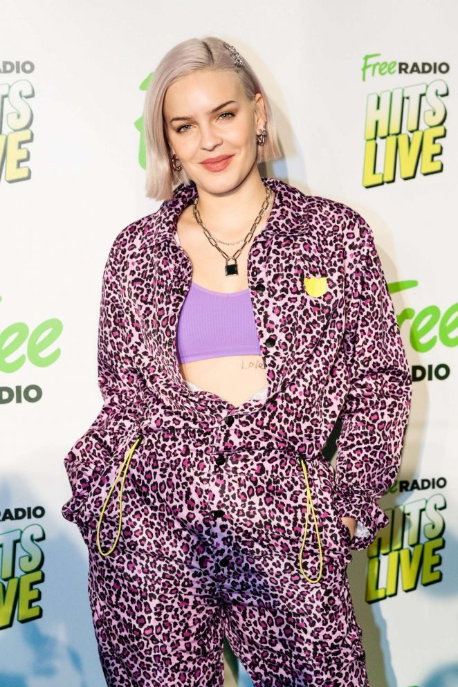 Anne-Marie - 2018 Hits Radio Live Event in Manchester