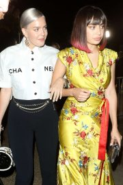 Anne-Marie and Charli XCX - Arrives at Serpentine Gallery Summer Party in London
