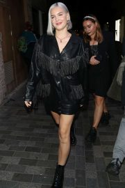 Anne-Marie - Arrives at Cara Delevingne x Nasty Gal Launch Party in London