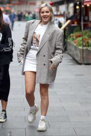 Anne-Marie - Arriving at Capital Breakfast radio studios in London