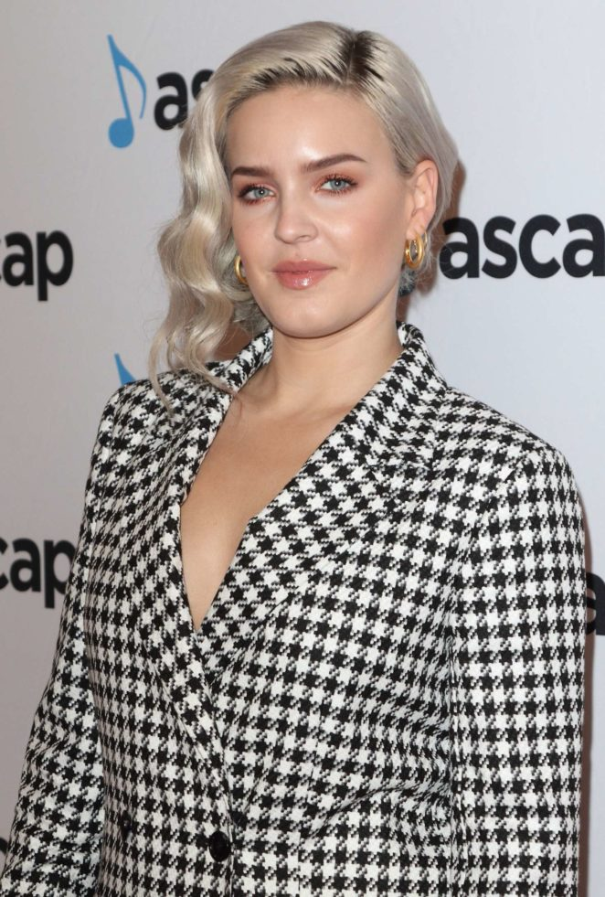 Anne-Marie - ASCAP Awards 2017 in London
