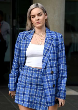 Anne Marie at BBC Breakfast in Salford
