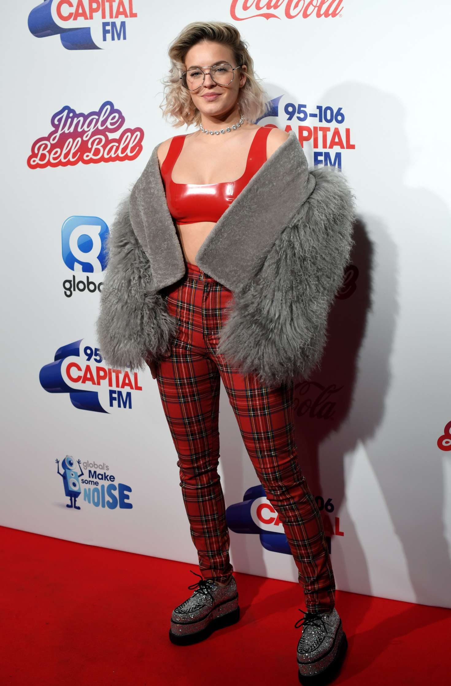 Anne Marie Capitals Jingle Bell Ball 2016 With Coca Cola In London Celebs By Lianxio