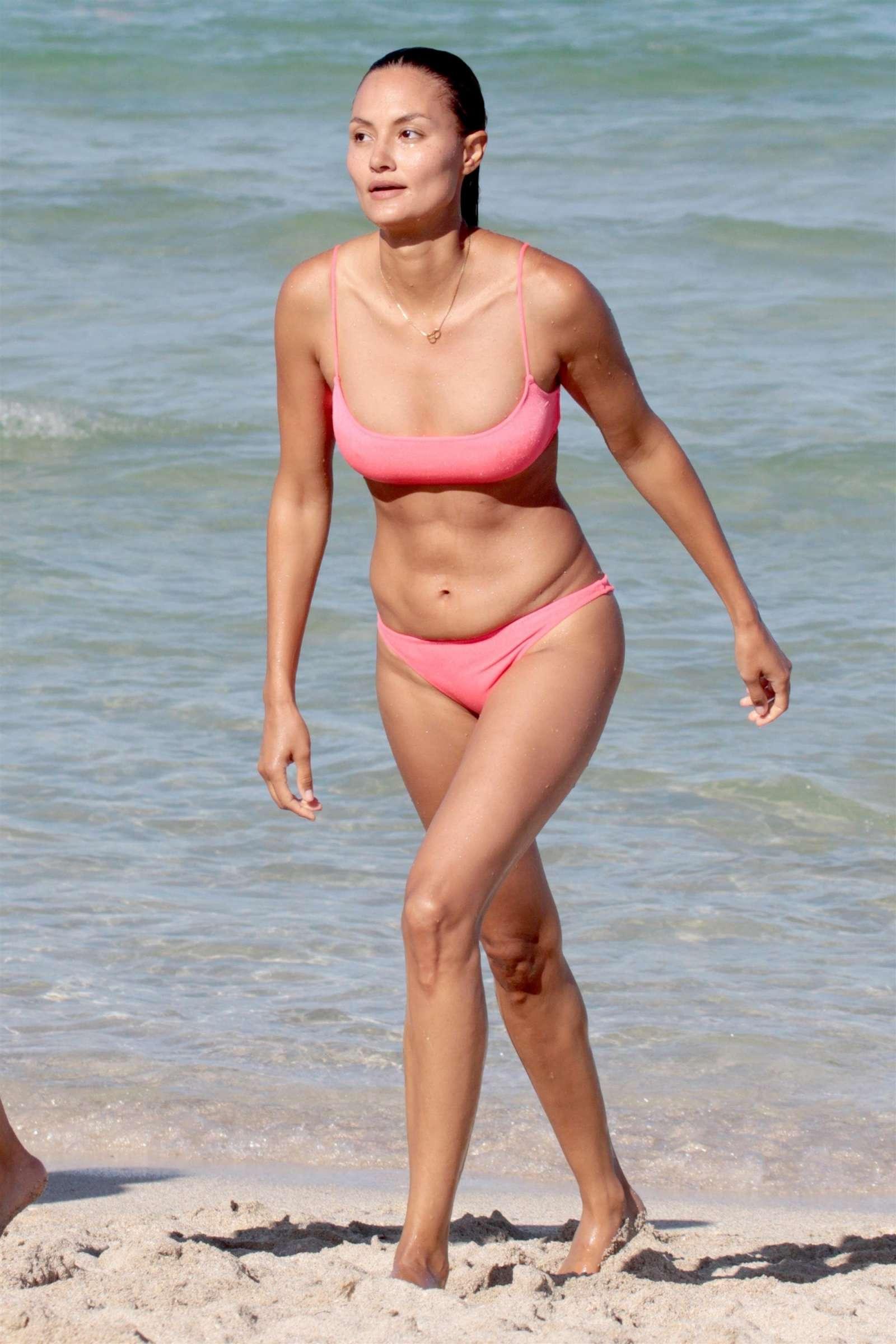 f2ab51f019 Anne Marie Kortright in Pink Bikini 2017 -09 - GotCeleb