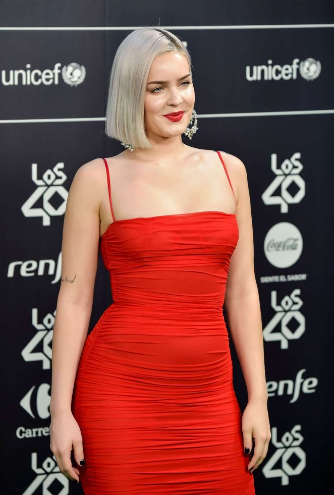 Anne-Marie - LOS40 Music Awards 2018 in Madrid