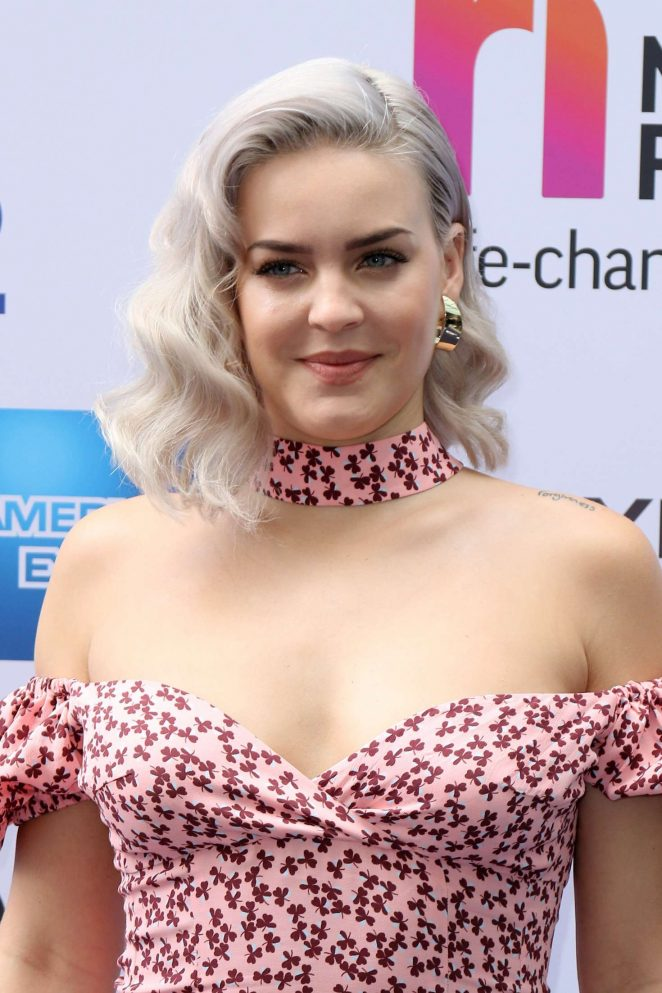 Anne-Marie - Nordoff Robbins O2 Silver Clef Awards in London