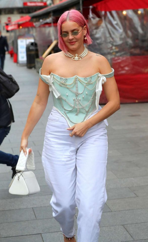 Anne Marie - Out and about in London
