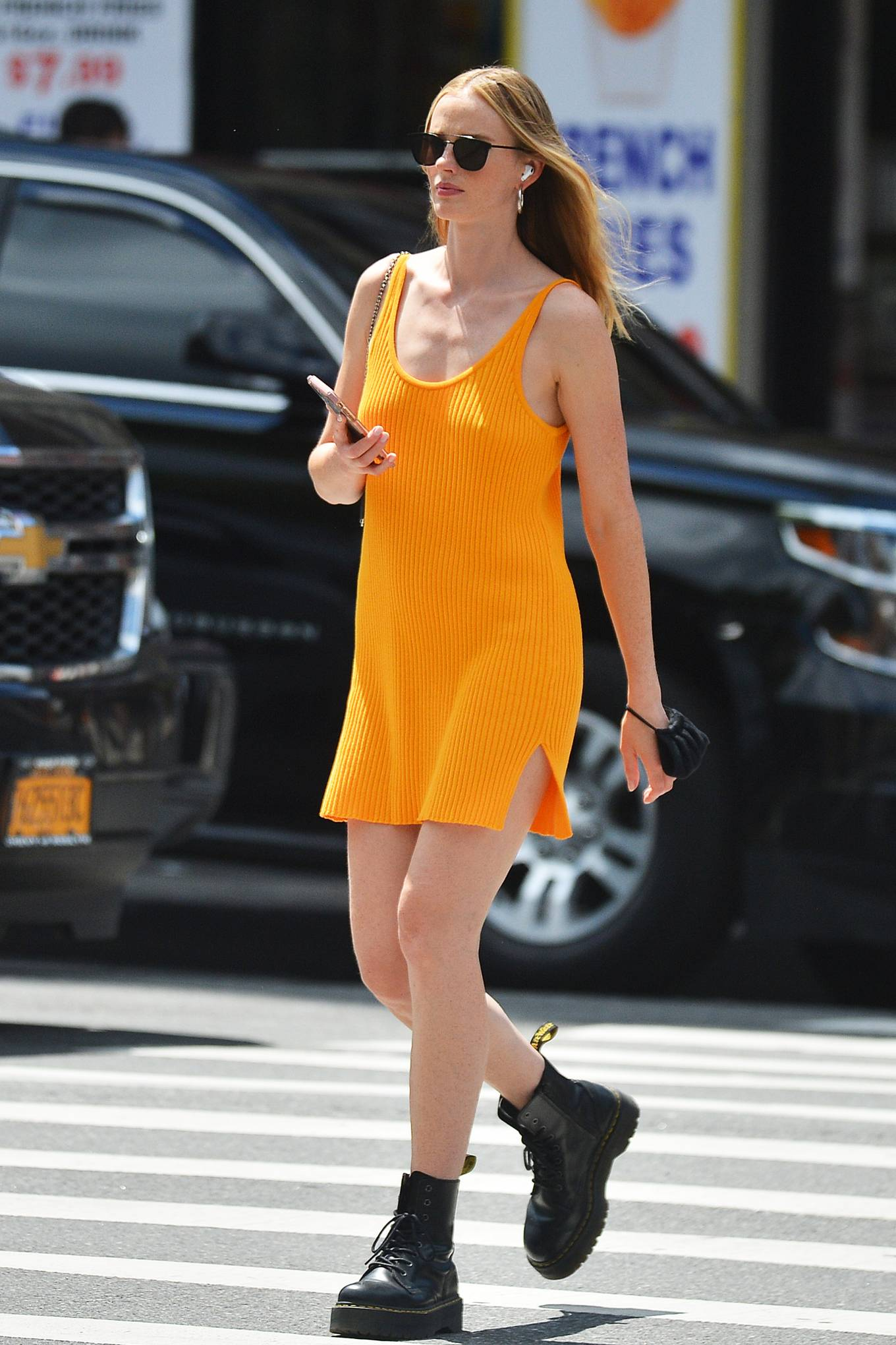 Anne V - out and about in New York City
