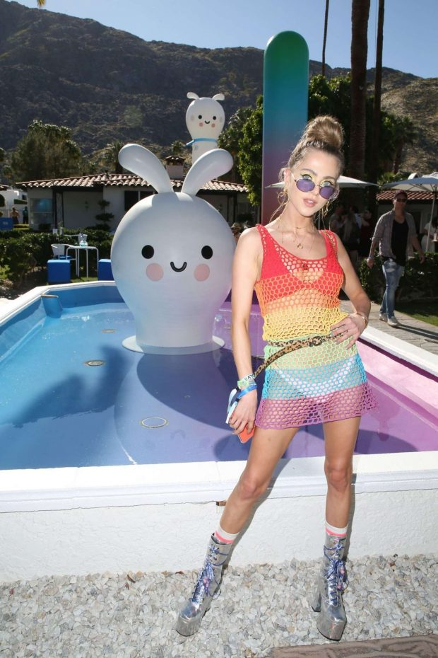 Anne Winters - American Express Platinum House in Palm Springs