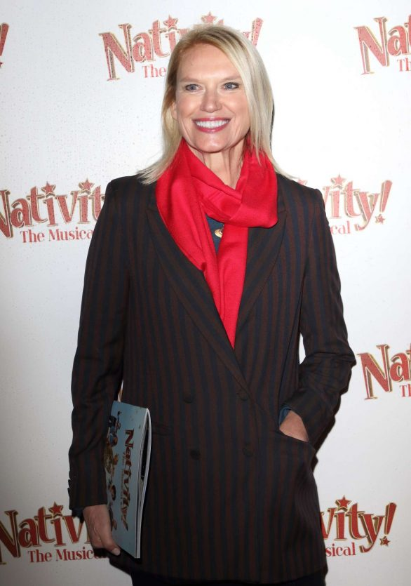 Anneka Rice - 'Nativity! The Musical' Press Night Performance in London