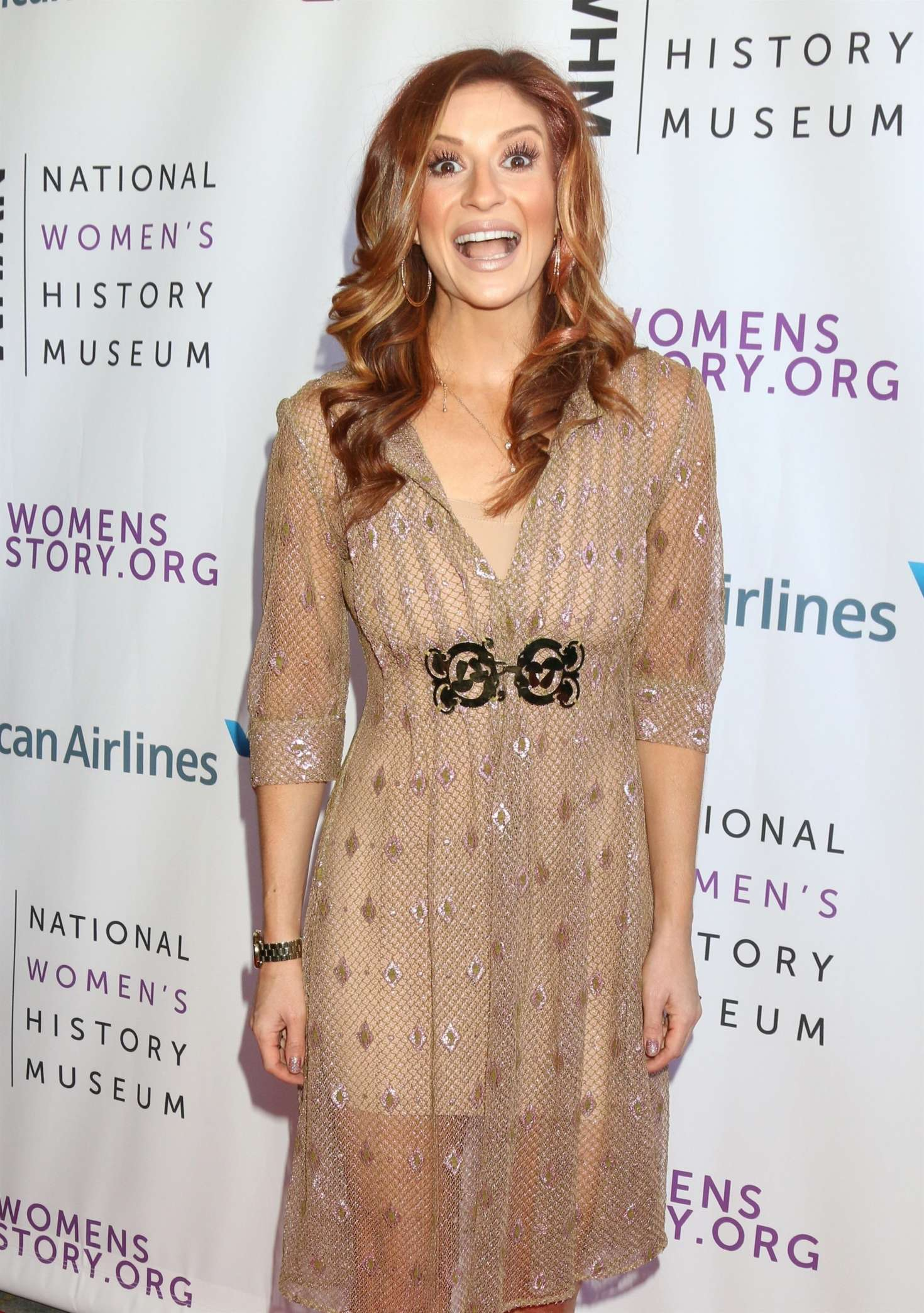 Anneliese van der Pol 2018 : Anneliese van der Pol: 7th Annual Women Making History Awards -05