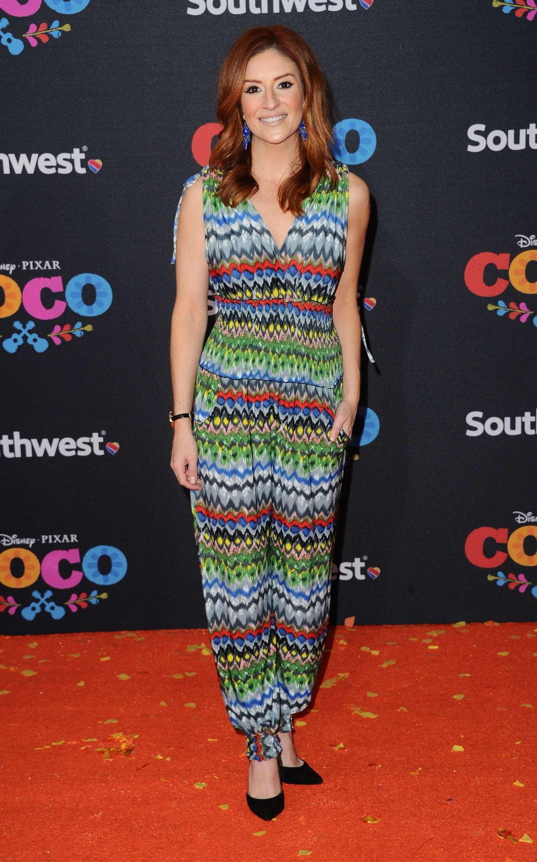 Anneliese van der Pol 2017 : Anneliese van der Pol: Coco Premiere in Los Angeles -05