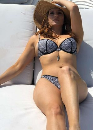 Anneliese van der Pol in Bikini - Social Pics