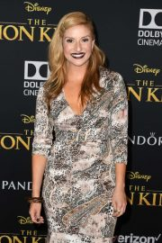 Anneliese van der Pol - 'The Lion King' Premiere in Hollywood