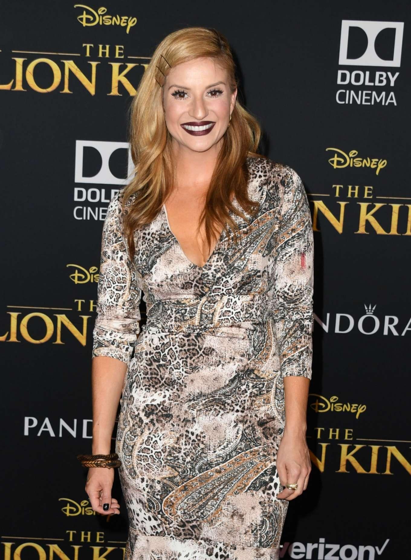 Anneliese van der Pol - 'The Lion King' Premiere in Hollywood