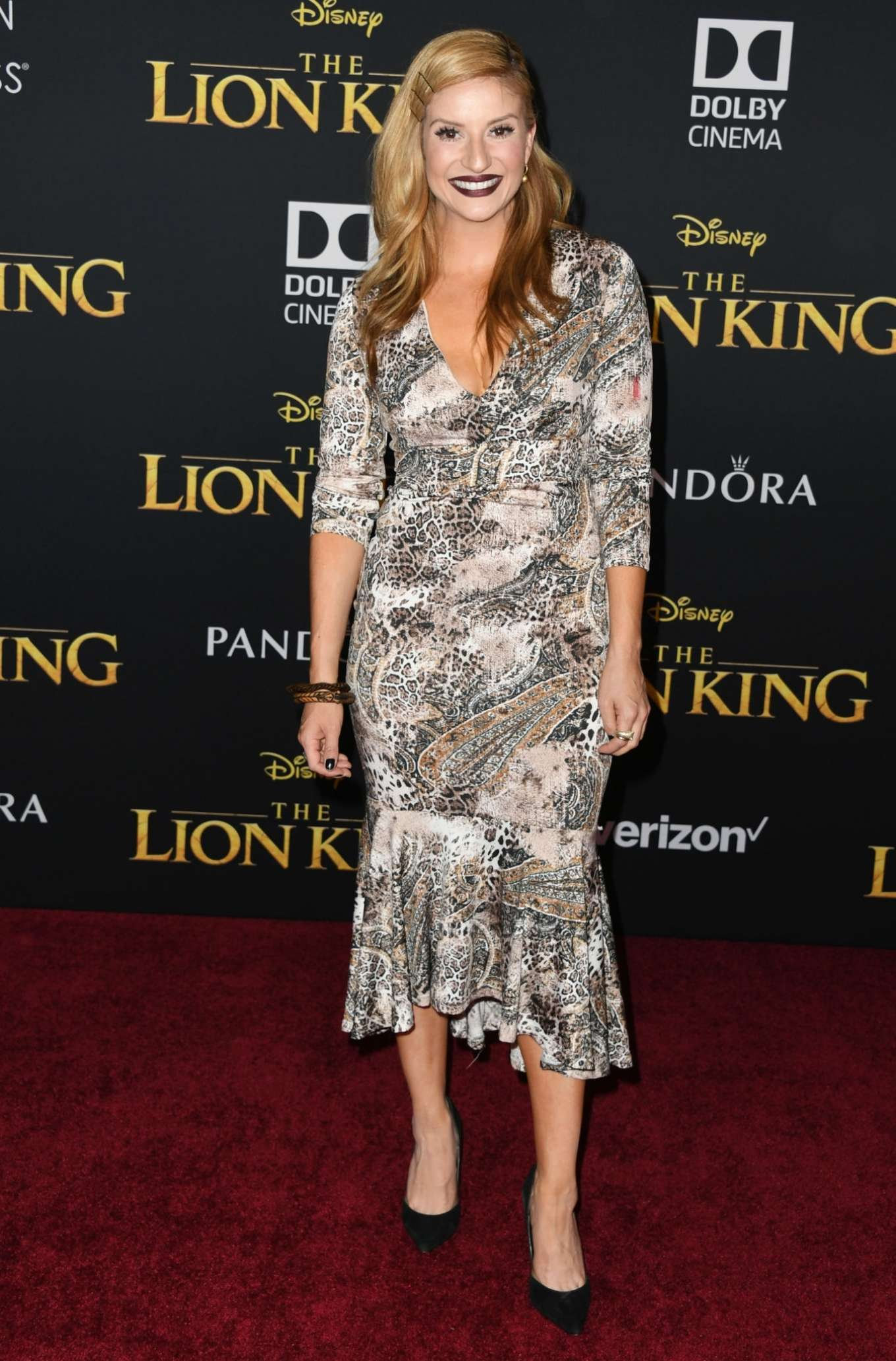 Anneliese van der Pol 2019 : Anneliese van der Pol – The Lion King Premiere in Hollywood-04