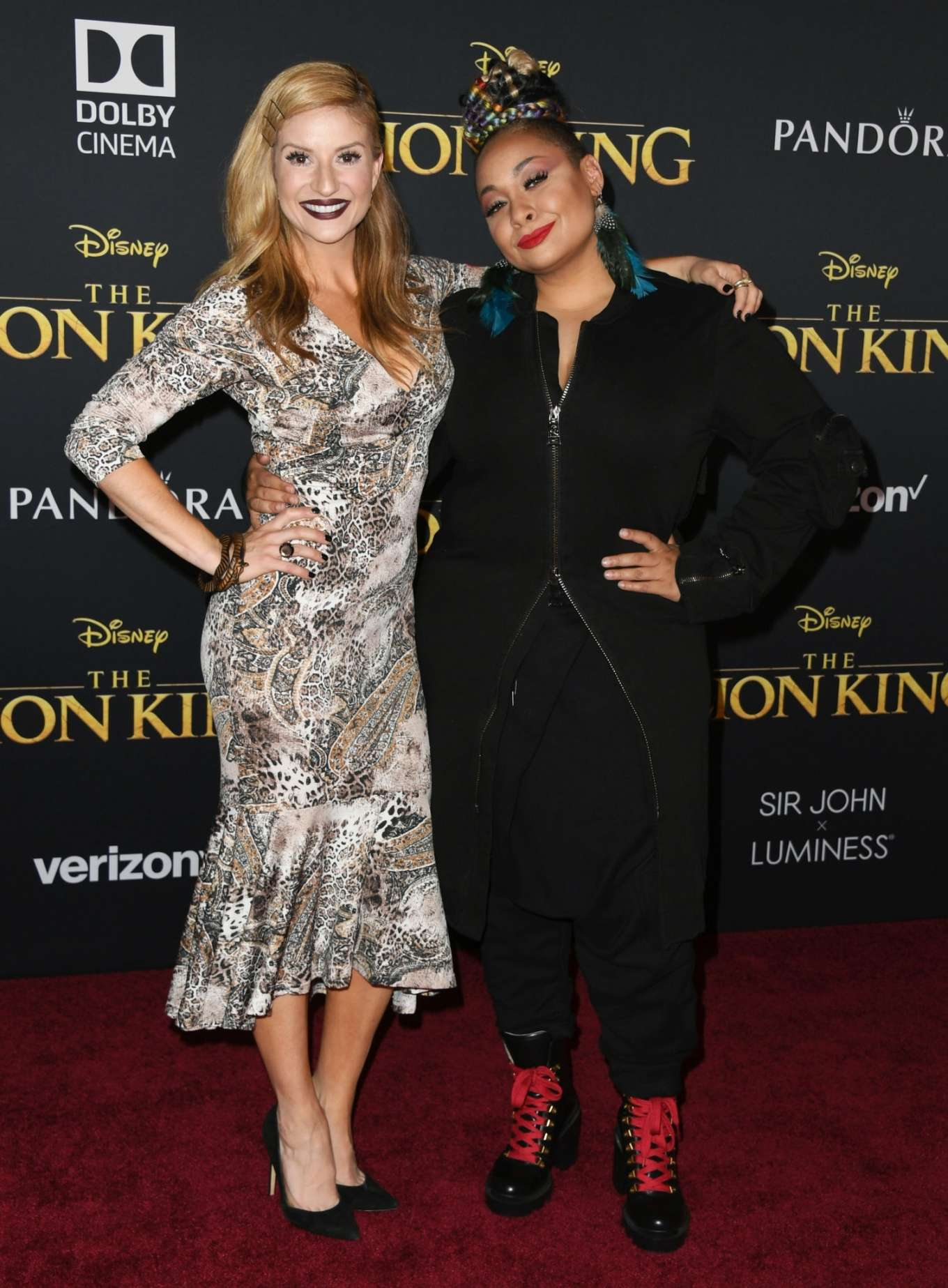 Anneliese van der Pol 2019 : Anneliese van der Pol – The Lion King Premiere in Hollywood-06