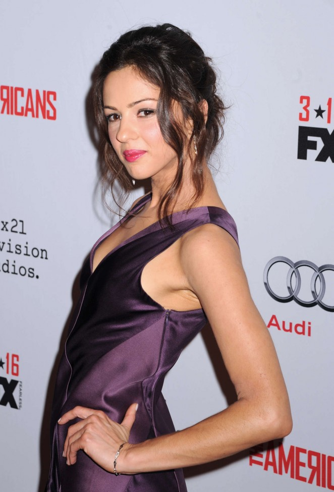 Annet Mahendru - 'The Americans' Season 4 Premiere in New York City