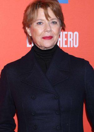 Annette Bening - 'Lobby Hero' Broadway Play Opening Night in NYC