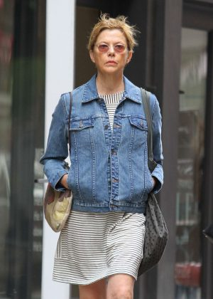 Annette Bening out in NYC