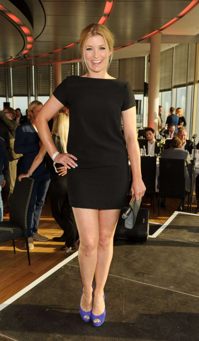 Annica Hansen - Pre Golf Party at 7 Golf Charity Cup in Cologne