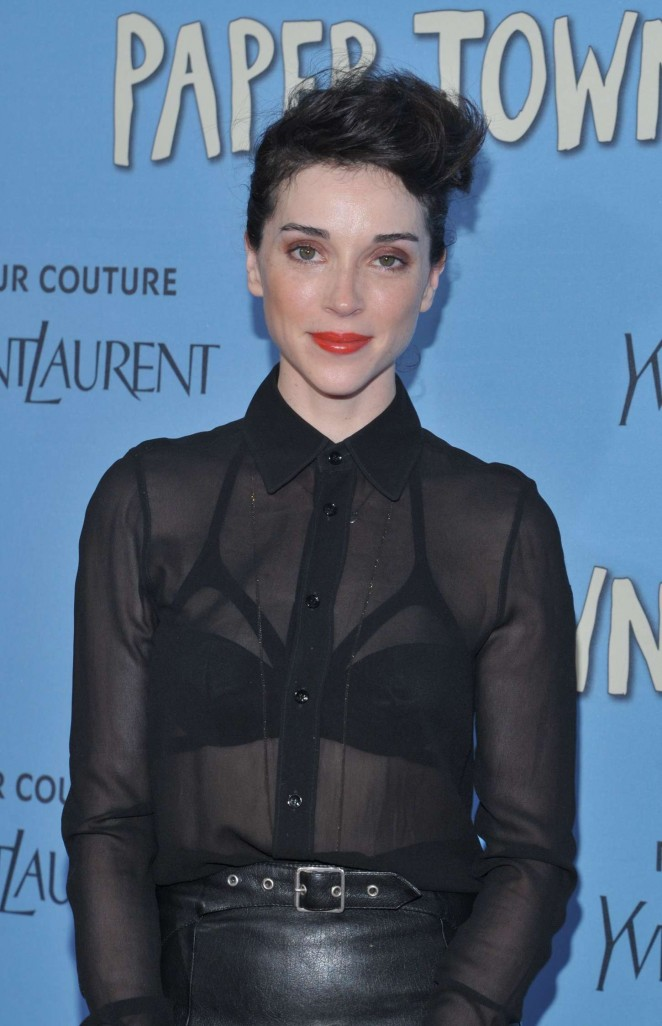 Annie Clark - 'Paper Towns' Premiere in NYC