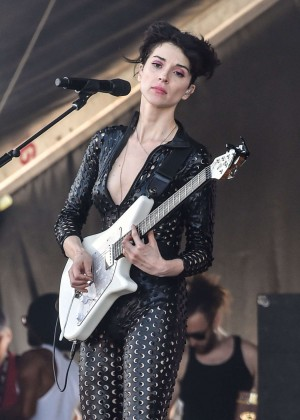 Annie Clark - Performing at the Osheaga Music and Arts Festival in Montreal