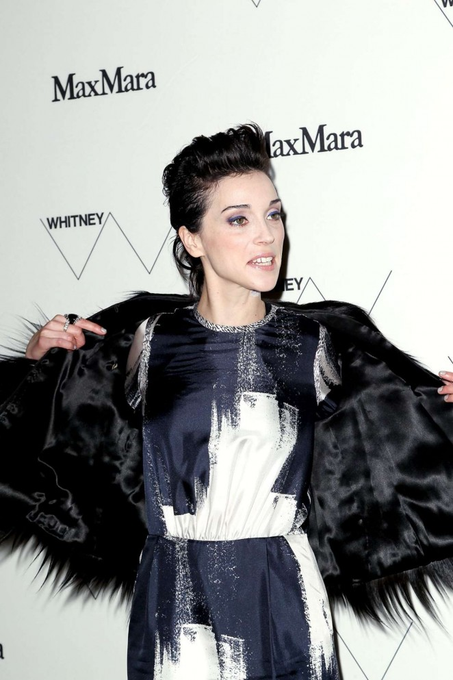 Annie Clark - Whitney Museum of American Art Opening in New York