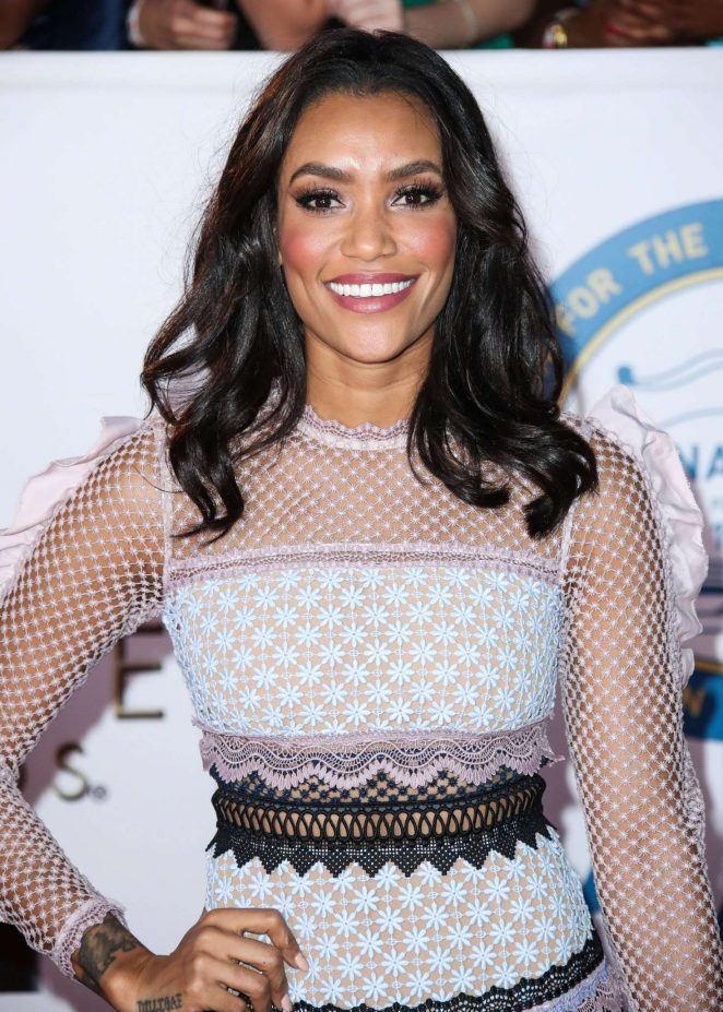 Annie Ilonzeh - 49th NAACP Image Awards in Pasadena