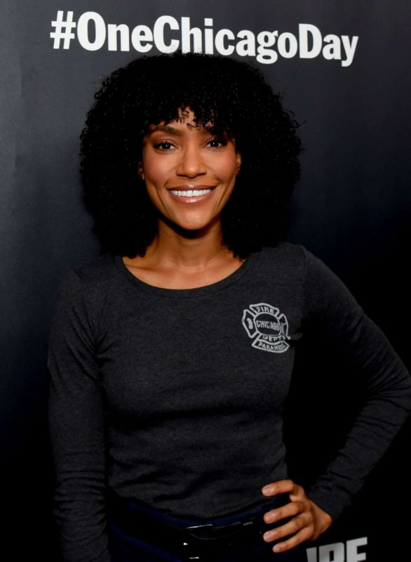 Annie Ilonzeh - NBC Chicago Press Day in Chicago