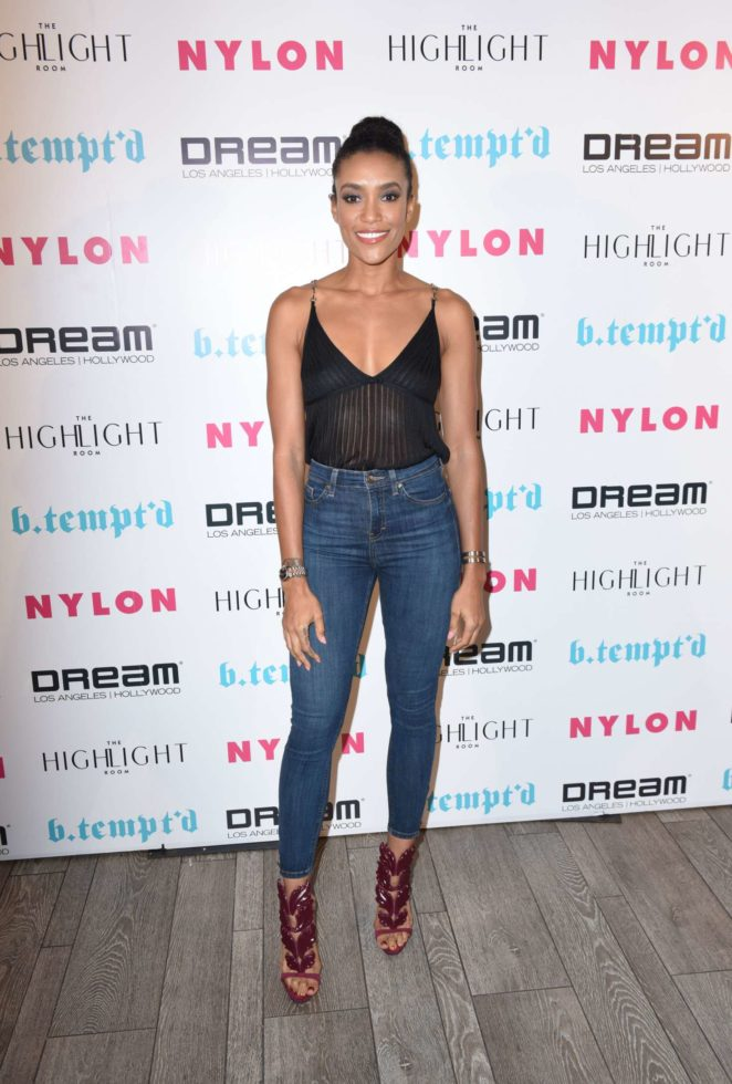 Annie Ilonzeh - NYLON's It Girl Party at The Highlight Room in Hollywood