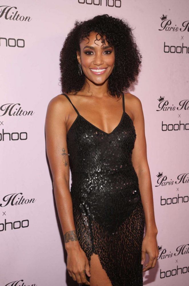 Annie Ilonzeh - Paris Hilton x boohoo Official Launch Party in West Hollywood