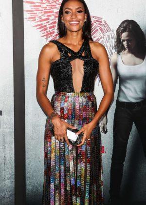 Annie Ilonzeh - 'Peppermint' Premiere in Los Angeles