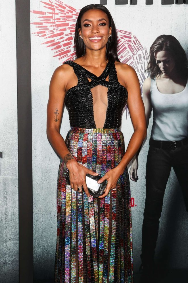 Annie Ilonzeh - 'Peppermint' Premiere in Los Angeles