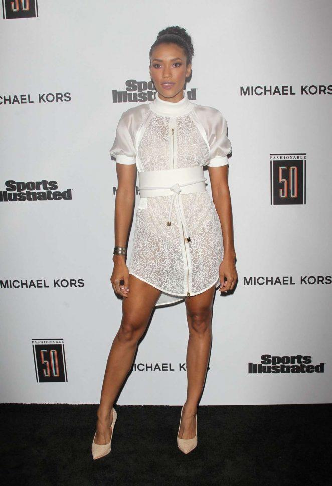 Annie Ilonzeh – SI Fashionable 50 Party in LA