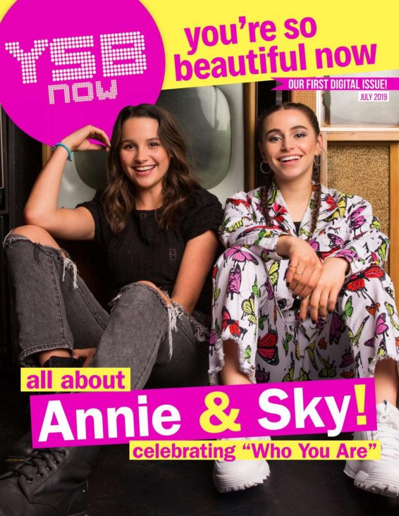 Annie LeBlanc and Sky Katz - YSBnow Digital Magazine (July 2019)