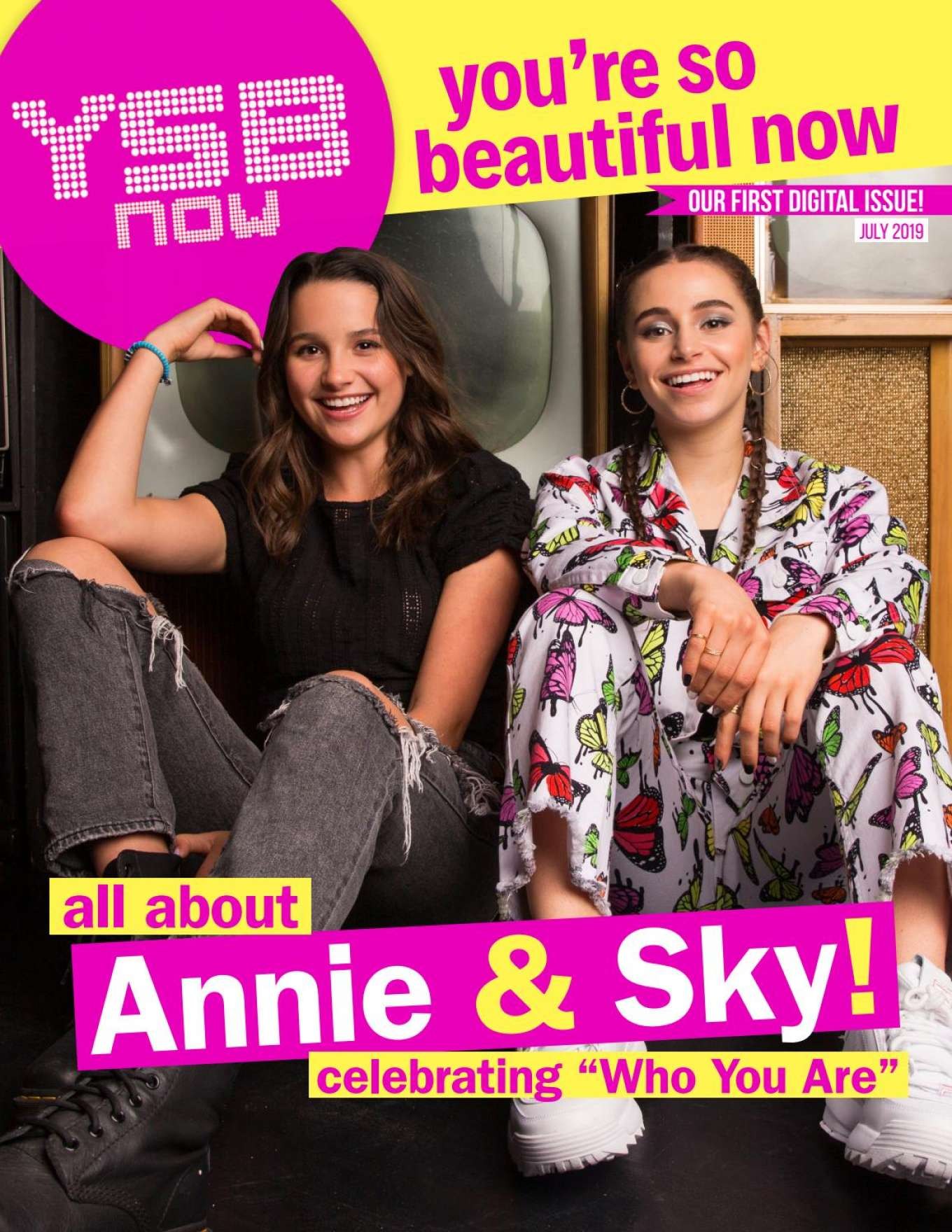 Annie LeBlanc and Sky Katz - YSBnow Digital Magazine (July 2019)