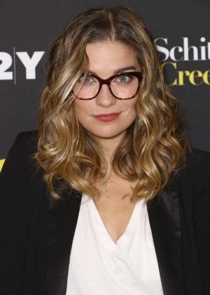 Annie Murphy - 92 Y Presents Cast of Schitt's Creek in New York