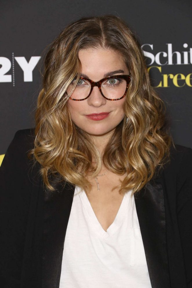 Annie Murphy – 92 Y Presents Cast of Schitt's Creek in New
