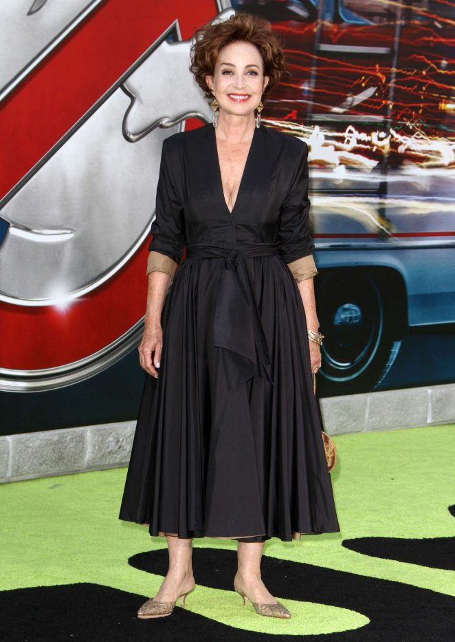Annie Potts - 'Ghostbusters' Premiere in Hollywood
