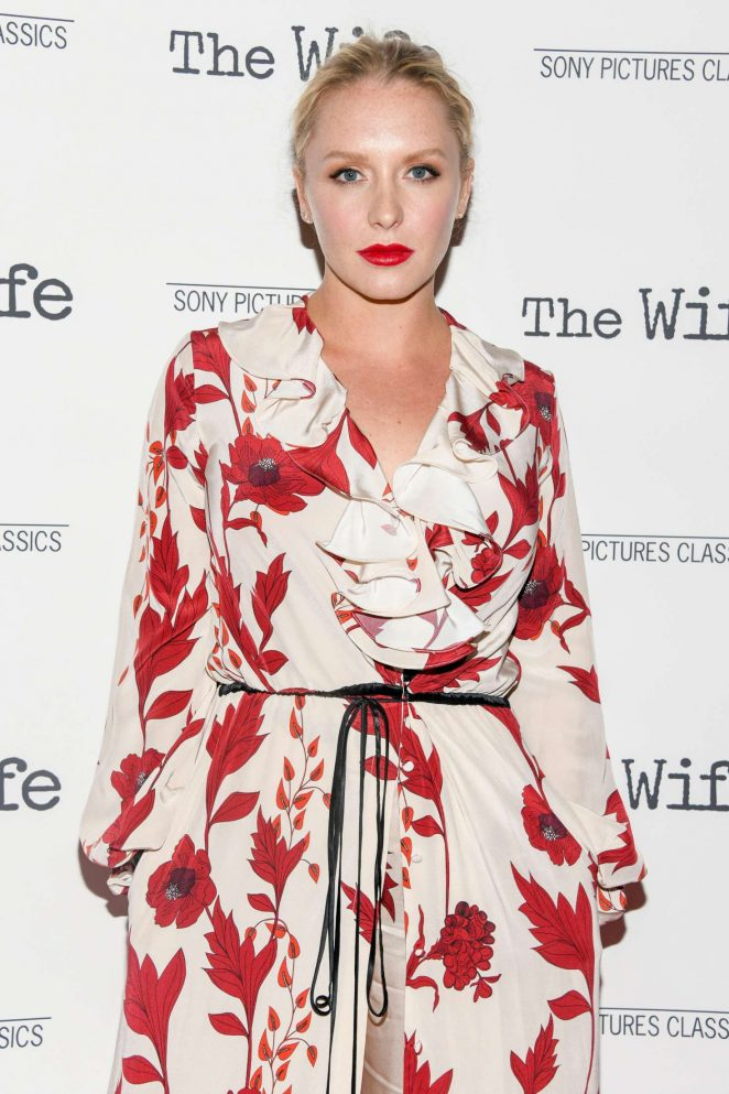 Annie Starke - 'The Wife' Screening in New York