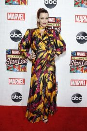 Annie Wersching - ABC and Marvel Honor Stan Lee in NYC