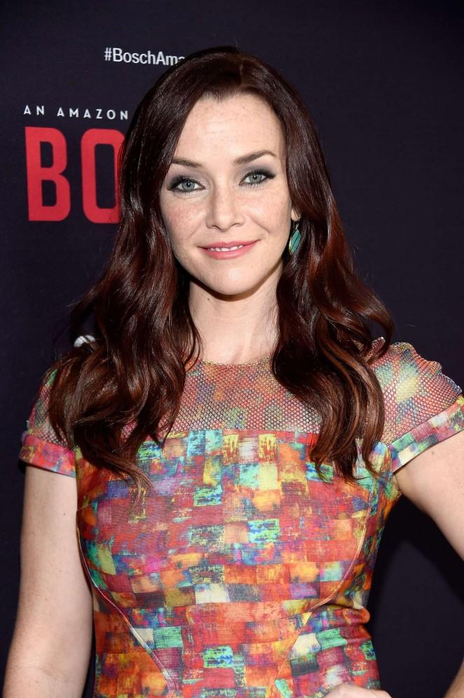 Annie Wersching - 'Bosch' Season 2 Premiere in West Hollywood