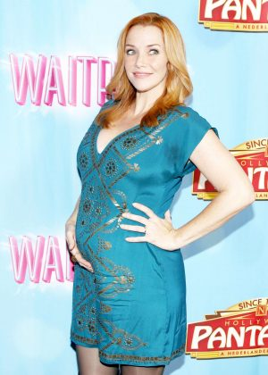 Annie Wersching - The National Tour of 'Waitress' in Hollywood